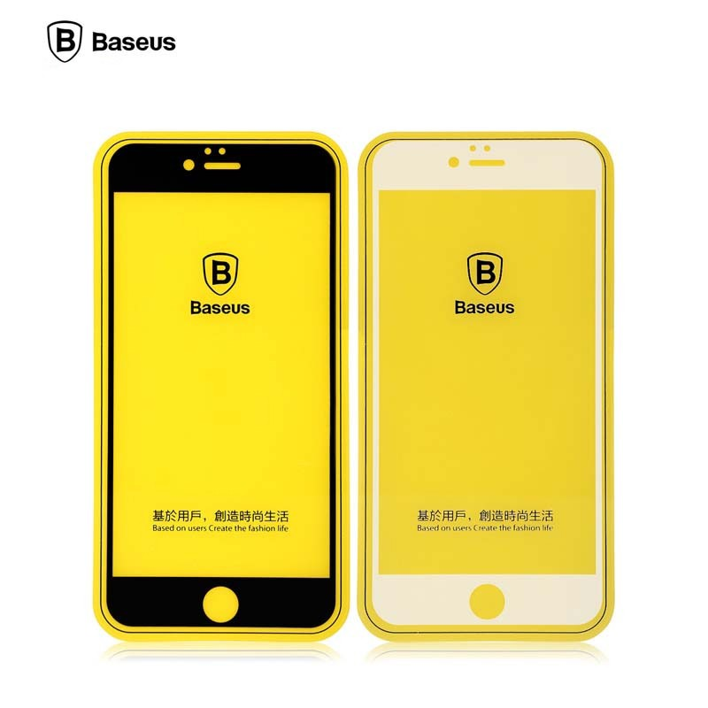 برچسب-گلس-فول-کاور-glass-protective-film-baseus-iphone-6-plus6s-plus